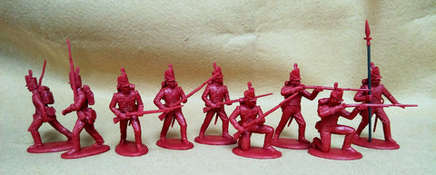 Expeditionary Force BRT01 - British Line Infantry Centre Company (1812-15) - Napoleonic - 54mm 1/32 Scale