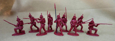 Expeditionary Force BRT01M - British Royal Marines - War of 1812 / Napoleonic 54mm 1/32 Scale