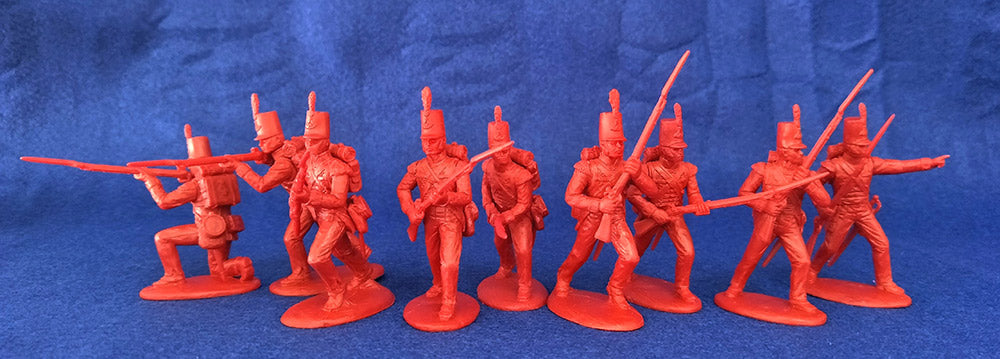 Expeditionary Force BRT03- British Light Infantry - Napoleonic 54mm 1/32 Scale