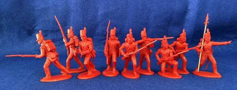 Expeditionary Force BRT03G - British Grenadiers - Napoleonic Infantry - 54mm 1/32 Scale