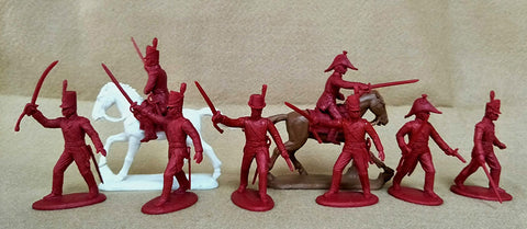 Expeditionary Force BRT04 - British Infantry Officers - Line, Light & Marines - Napoleonic 54mm 1/32 Scale