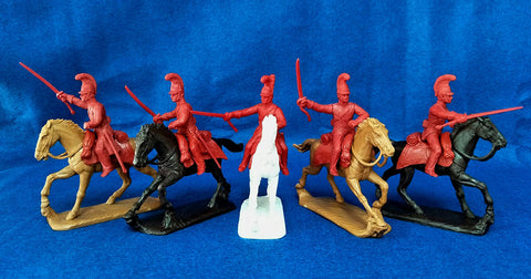 Expeditionary Force BRT05-L Life Guards Napoleonic British Cavalry 54mm 1/32 Scale