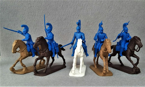 Expeditionary Force Napoleonic French Carabiniers - 54 FRN 09-C  54mm Plastic