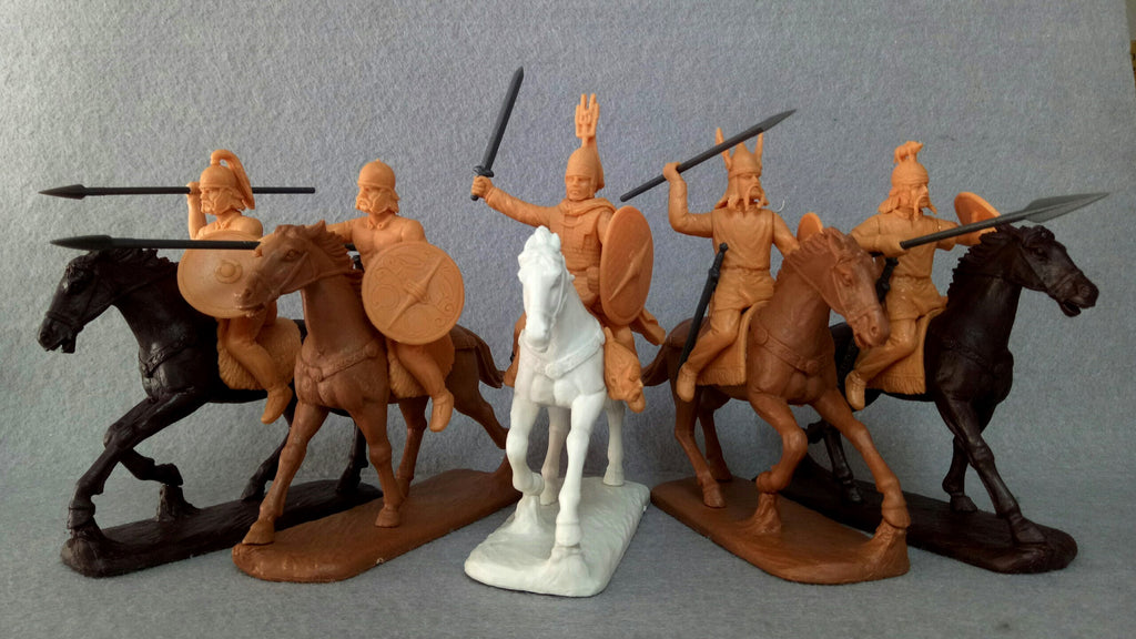 Expeditionary Force 60 CTB 02. Celtic Cavalry - 60mm