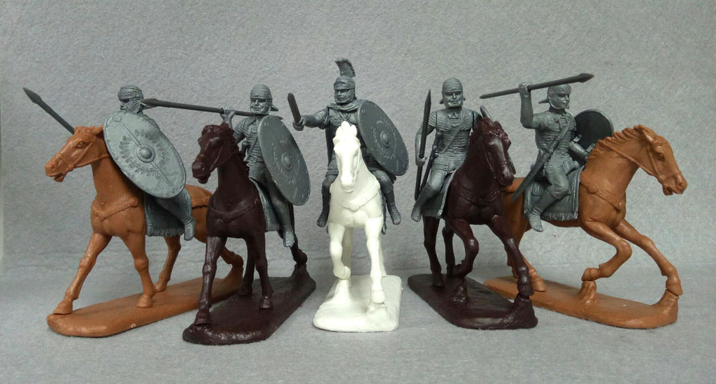 Expeditionary Forces Romans - 60 RMN 02 - A Mounted Auxiliaries (Cohors Equitata)