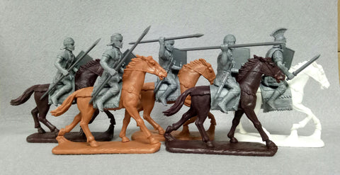 Expeditionary Forces Romans -  60 RMN 02 - P Guard Cavalry (Praetorian) 60mm Plastic