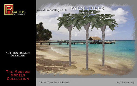 PEGASUS 6501 PALM TREES STYLE A. 21cm / 8.5 inches tall. PALMS. TREE.
