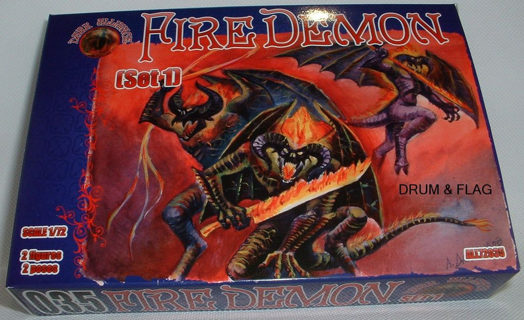 DARK ALLIANCE 72035 - FIRE DEMONS set #1. 1/72 SCALE. Not GW