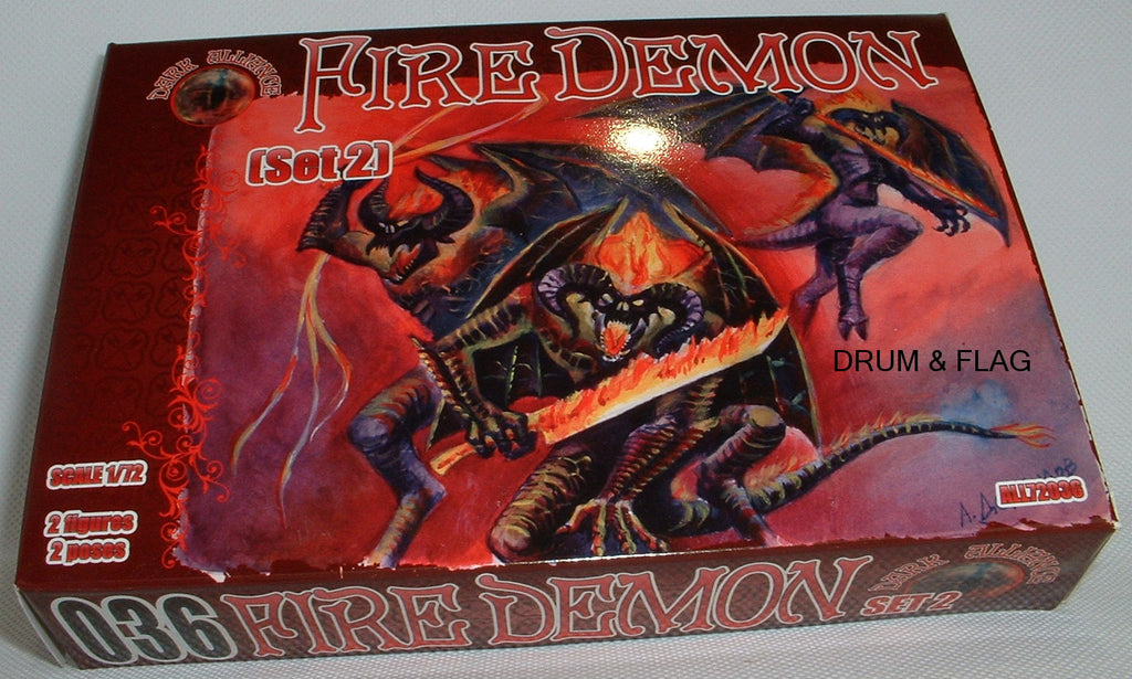 DARK ALLIANCE 72036 - FIRE DEMONS set #2. 1/72 SCALE. Not GW