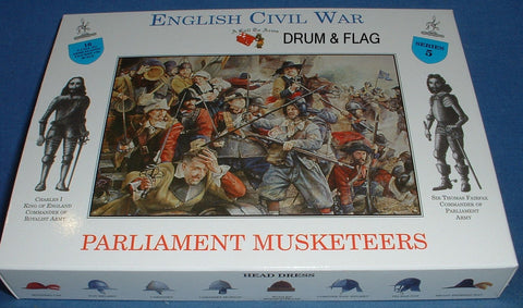A CALL TO ARMS #5. PARLIAMENT MUSKETEERS. ECW. 1/32 SCALE. ENGLISH CIVIL WAR