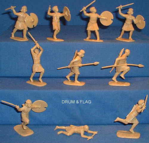 ARMIES IN PLASTIC #5441 - BEJA TRIBESMEN - EGYPT & SUDAN 1881-1898 - 1/32 SCALE.