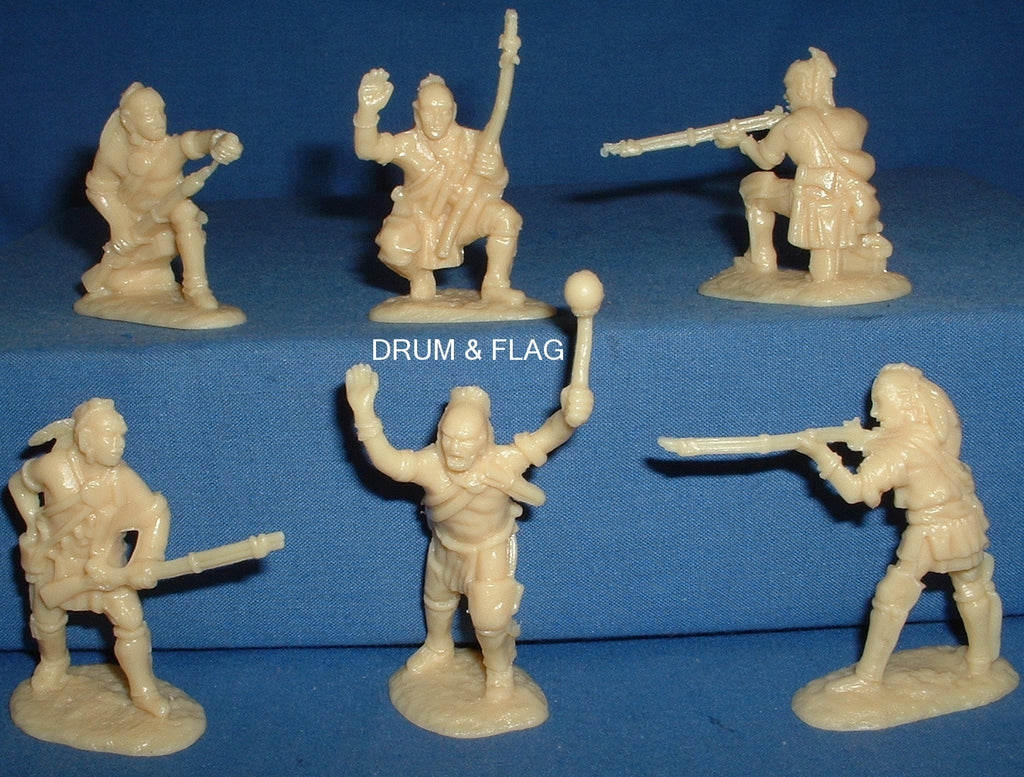 ARMIES IN PLASTIC #5547 - NORTHEASTERN WOODLAND INDIANS SET #1 1/32 SCALE