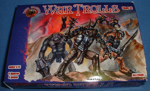 DARK ALLIANCE 72030 - WAR TROLLS set #1. 1/72 SCALE. Not GW