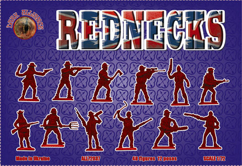 DARK ALLIANCE 72037 REDNECKS - 1/72 SCALE.