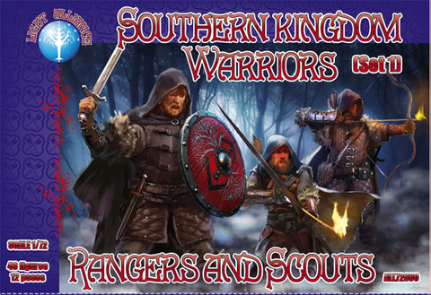 Dark Alliance 72060. Southern Kingdom Warriors. 1/72 Scale.
