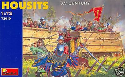 MINIART 72010: HOUSITS - XV CENTURY 1:72 Scale HUSSITES