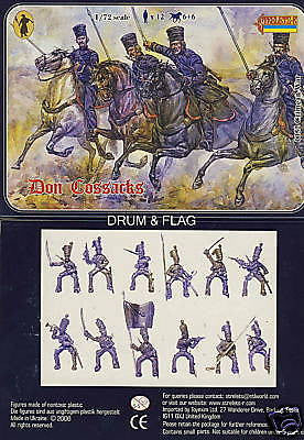 STRELETS 52 CRIMEAN WAR DON COSSACKS 1/72 SCALE 12 FIGS