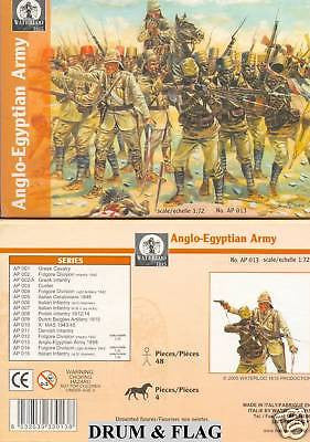 WATERLOO 1815 AP013. ANGLO-EGYPTIAN ARMY. 1/72 SCALE. UNPAINTED PLASTIC