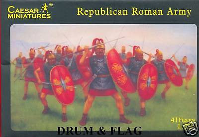 CAESAR #45 - REPUBLICAN ROMAN ARMY - 1/72 SCALE. GALLIC & PUNIC WARS ETC...