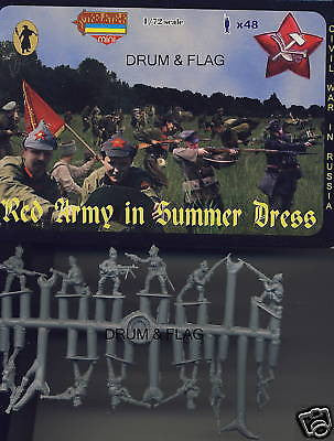 STRELETS M 45. RED ARMY IN SUMMER DRESS. RCW. 1/72