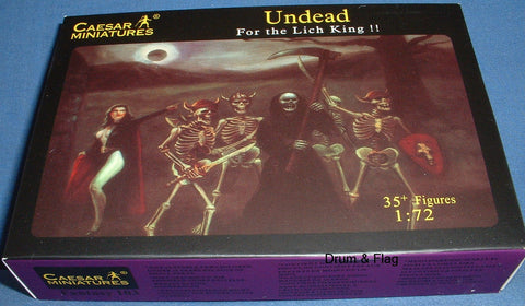 CAESAR SET Fantasy Set #103 - UNDEAD. 1/72 SCALE PLASTIC