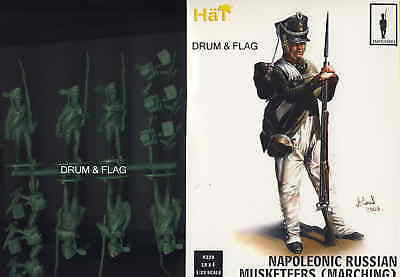 HAT 9320 NAPOLEONIC RUSSIAN INFANTRY MARCHING POSES 1/32 SCALE X18 FIGS RUSSIANS x