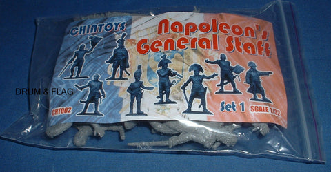CHINTOYS cht002 NAPOLEON'S GENERAL STAFF 1/32 SCALE 55-60mm
