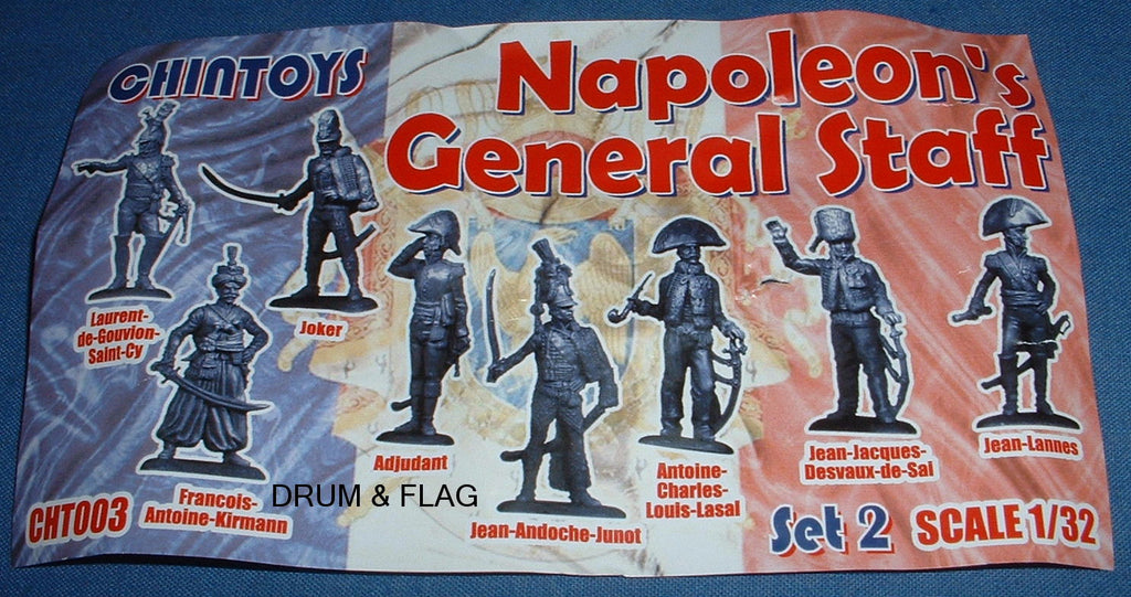 CHINTOYS cht003 NAPOLEON'S GENERAL STAFF #2 1/32 SCALE 55-60mm