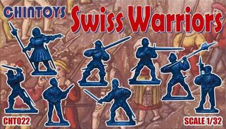 CHINTOYS cht022 Swiss Warriors. 16th Century - 1/32 Scale