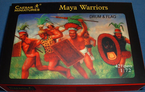 CAESAR SET 27. MAYA WARRIORS. 1/72 Scale