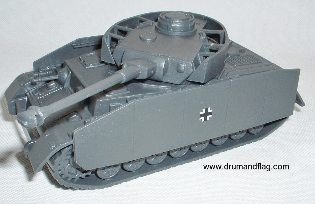 CTS WW2 German PzIV with Side Armour. Panzer IV.