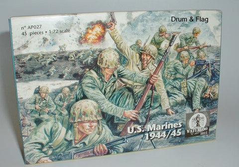 WATERLOO 1815 AP027 U.S. MARINES 1944/5 WW2 - 1/72 SCALE