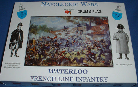 A CALL TO ARMS SET #17 FRENCH LINE INFANTRY. 1/32 SCALE. NAPOLEONIC