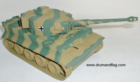 CTS WW2 German Tiger Tank. (Camo)