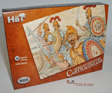 HAT 9020. CARTHAGINIANS - AFRICAN INFANTRY. 1/32 SCALE PLASTIC FIGURES. 54MM