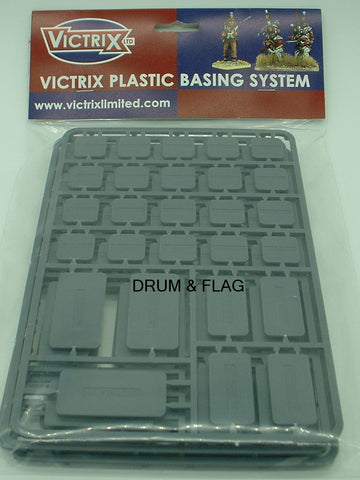VICTRIX MIXED SIZE PLASTIC BASES. WARGAMING. LOW PROFILE.