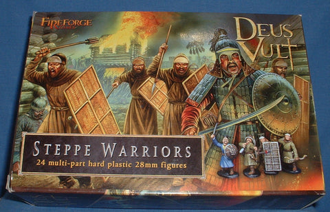 FIREFORGE GAMES - STEPPE WARRIORS - MONGOL INFANTRY - 28mm