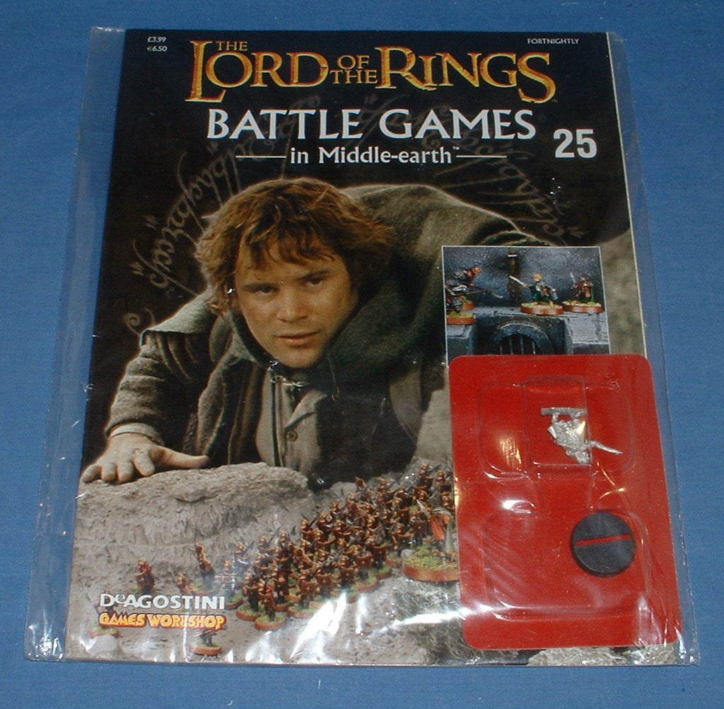 Sam Gamgee . LOTR BGIME ISSUE #25. SEALED BOOKLET & FIGURE.