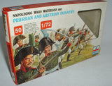 Esci #226 Prussian & Austrian Infantry x 1 set. (1 fig missing) 1/72 Scale Boxed USED.