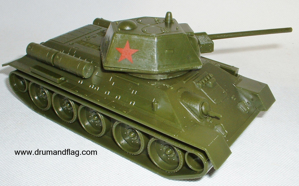 CTS WW2 T-34 Short Barrel Version. Soviet Russian Tank