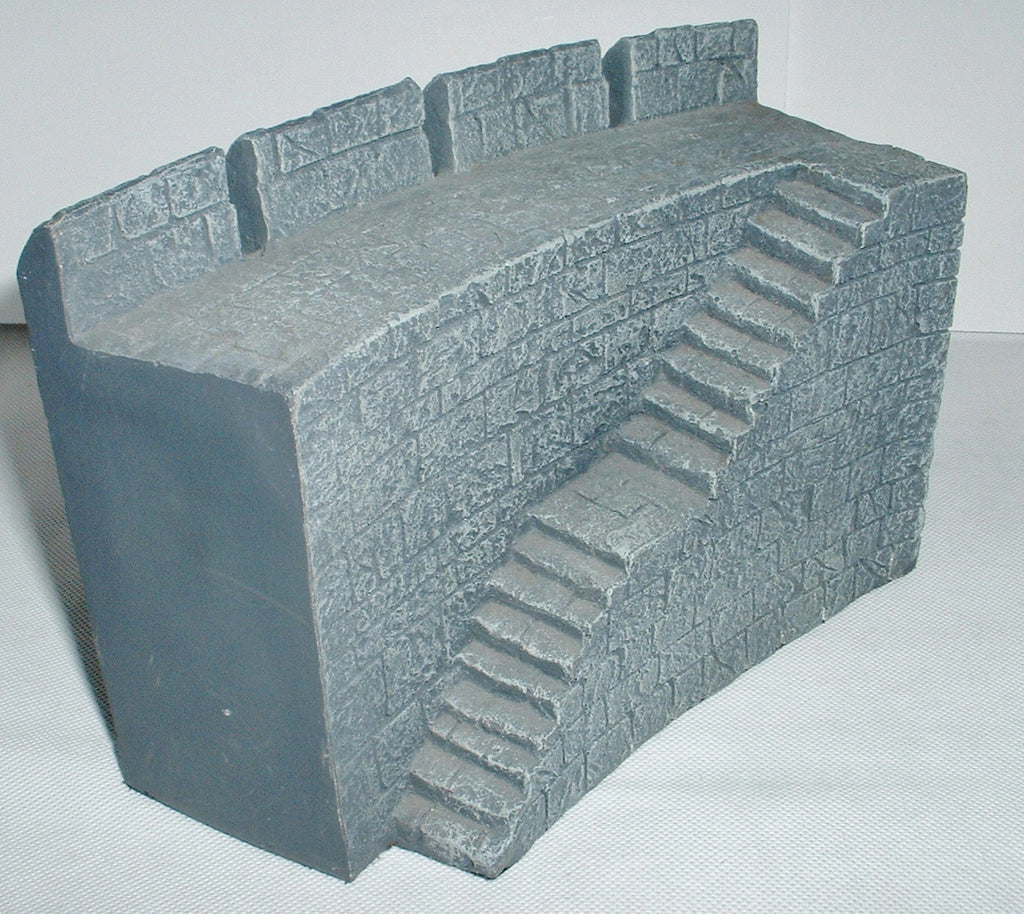 Helms Deep Wall Section with Stairs - Lord of the Rings - Games Workshop