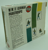 AIRFIX 01753 - WWII German Paratroops - 46 Figures. 1:72 Scale. Pre-owned Vintage