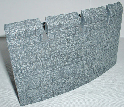 Helms Deep Plain Curved Wall Section - Lord of the Rings - Games Workshop