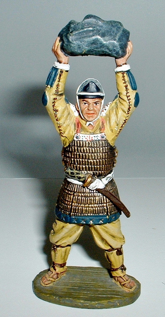 DEL PRADO MEDIEVAL WARRIORS - JAPANESE STONE THROWER 1189