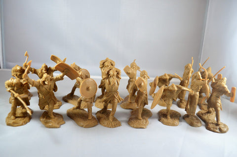 TSSD #19 BARBARIANS / ANCIENT GERMANS. c60mm Unpainted Plastic
