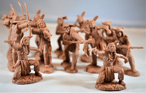 TSSD #13 PLAINS INDIANS. c60mm Unpainted Plastic