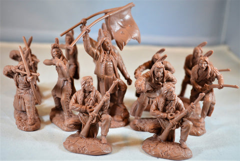 TSSD #14 PLAINS INDIANS. c60mm Unpainted Plastic