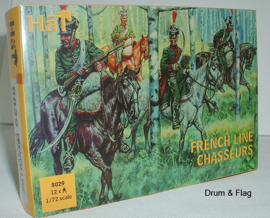 HAT 8029 - NAPOLEONIC FRENCH CHASSEURS - 1:72 SCALE
