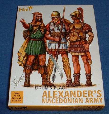 HAT 8088 ALEXANDER'S MACEDONIAN ARMY. 1/72 SCALE. x