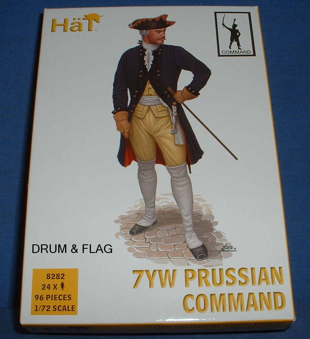 Prussian Command # 8282 Hat 1//72 7 Years War